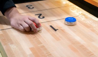 Shuffleboard Table Size Image.